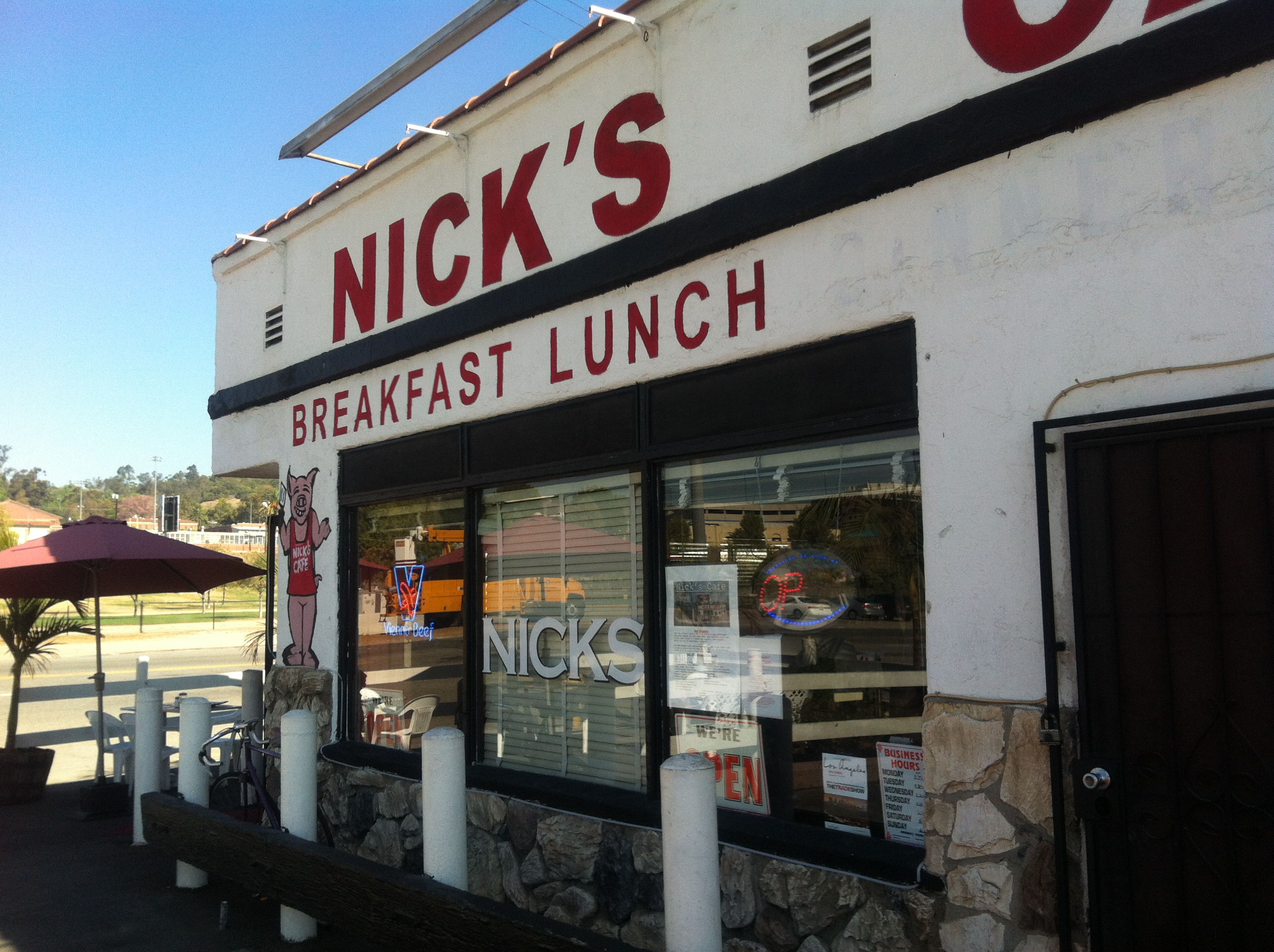 Nick S Cafe Waiuku Menu