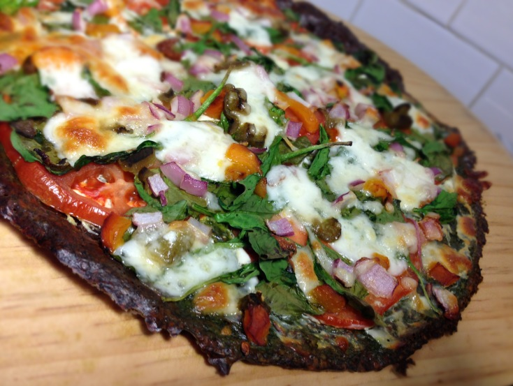 Image result for spinach pizza crust