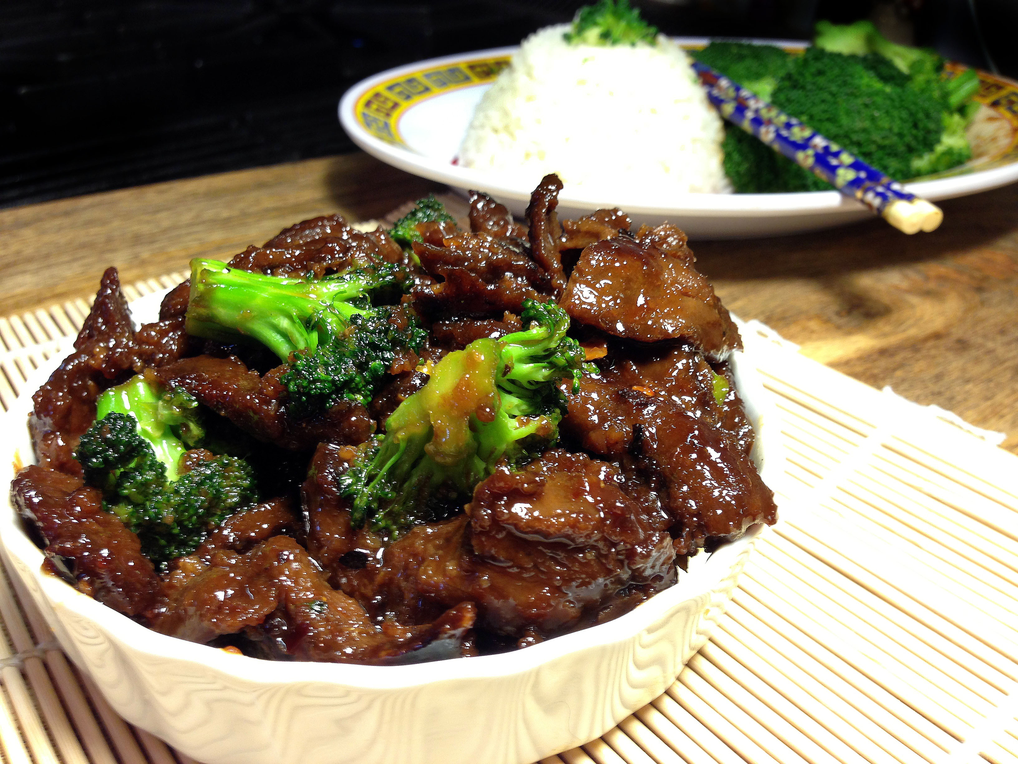 Ultra easy vegan or not spicy mongolian beef with broccoli image forumfinder Images