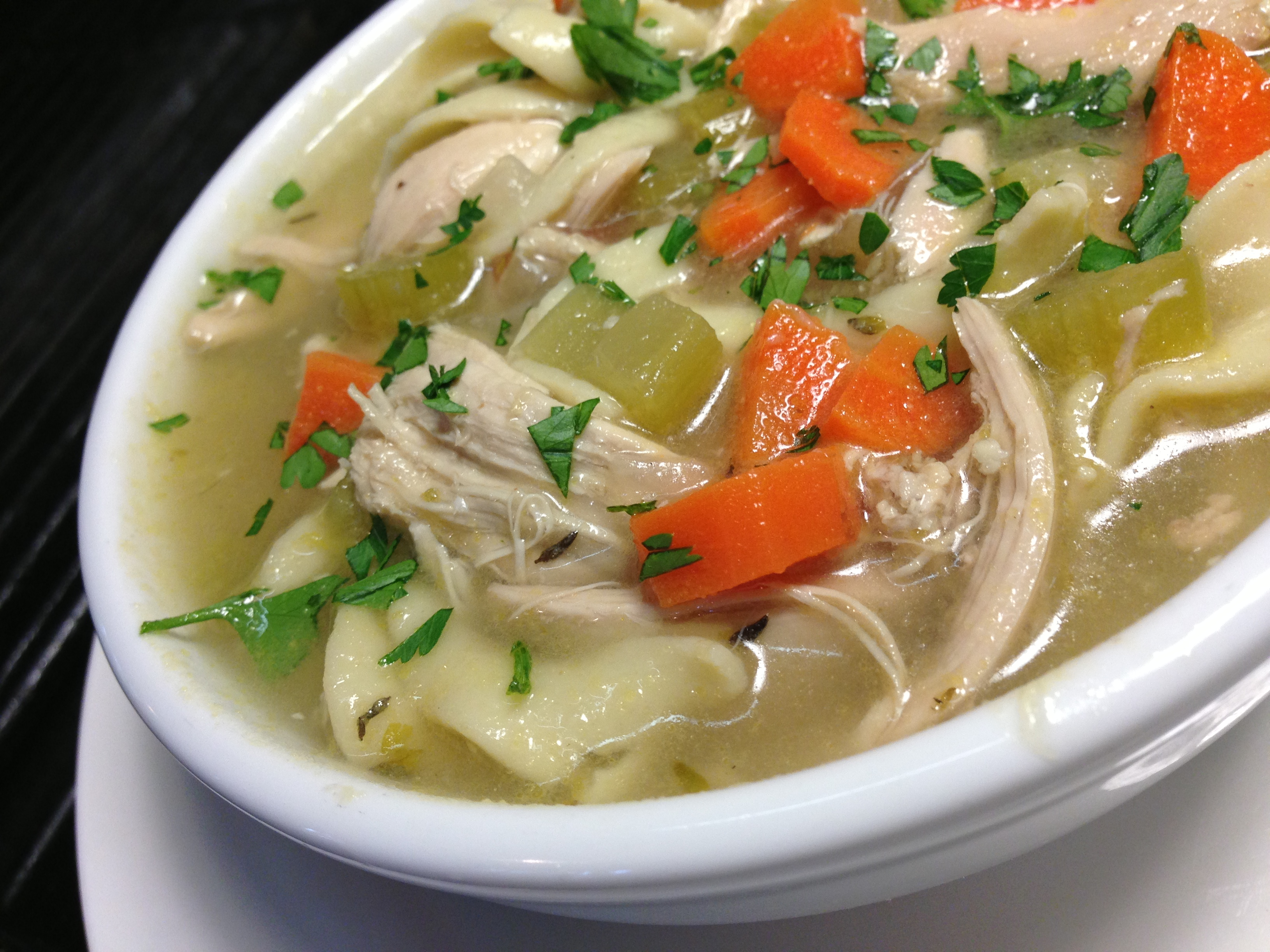 Easy Homemade Chicken Noodle Soup Made From Scratch Delightful