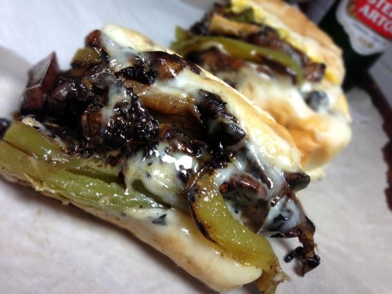Portabella Mushroom Cheesesteaks Recipes — Dishmaps