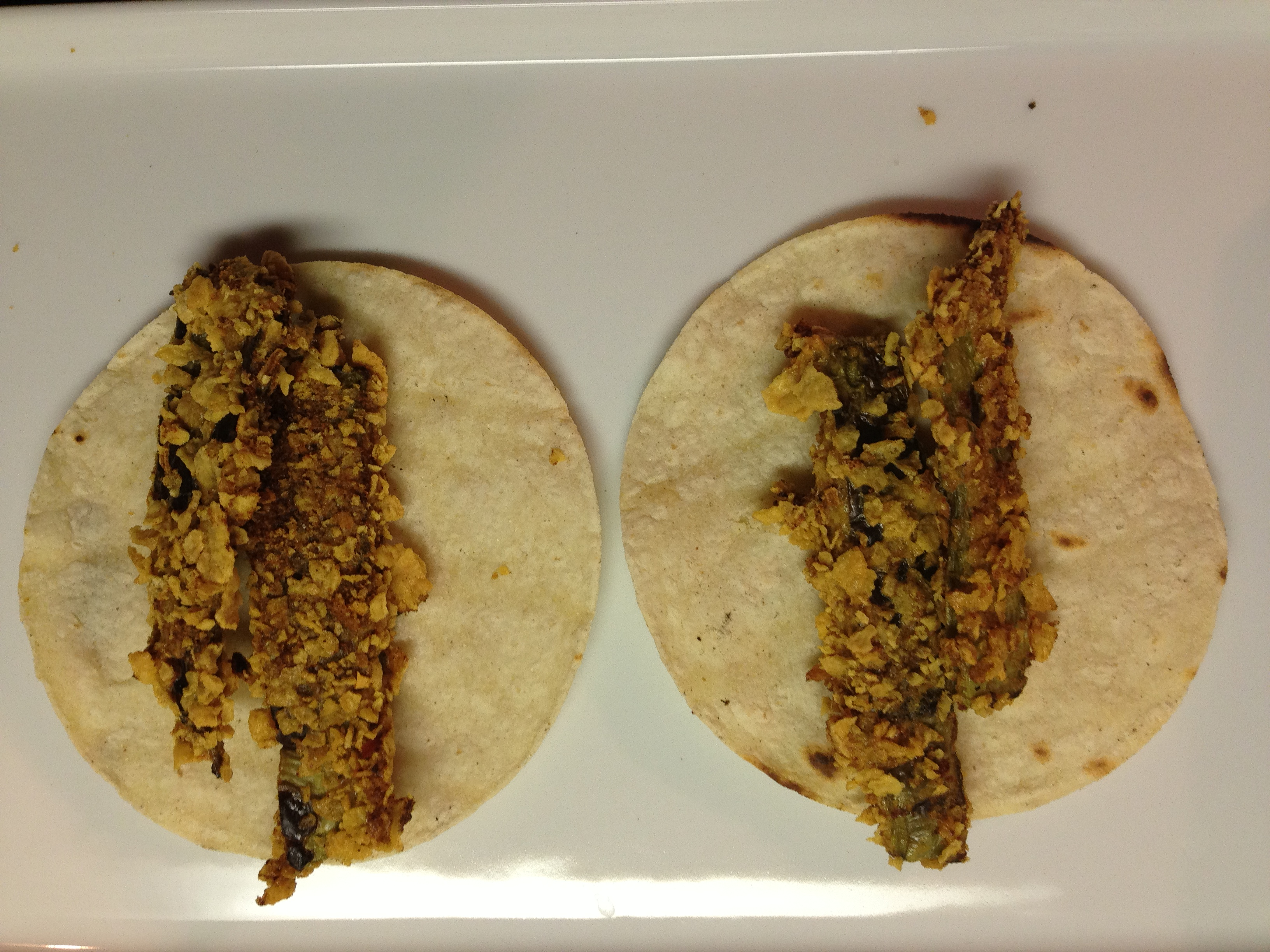 Grilled & Baked Cactus (Nopalitos) Tacos with Corn & Black Bean Salsa...
