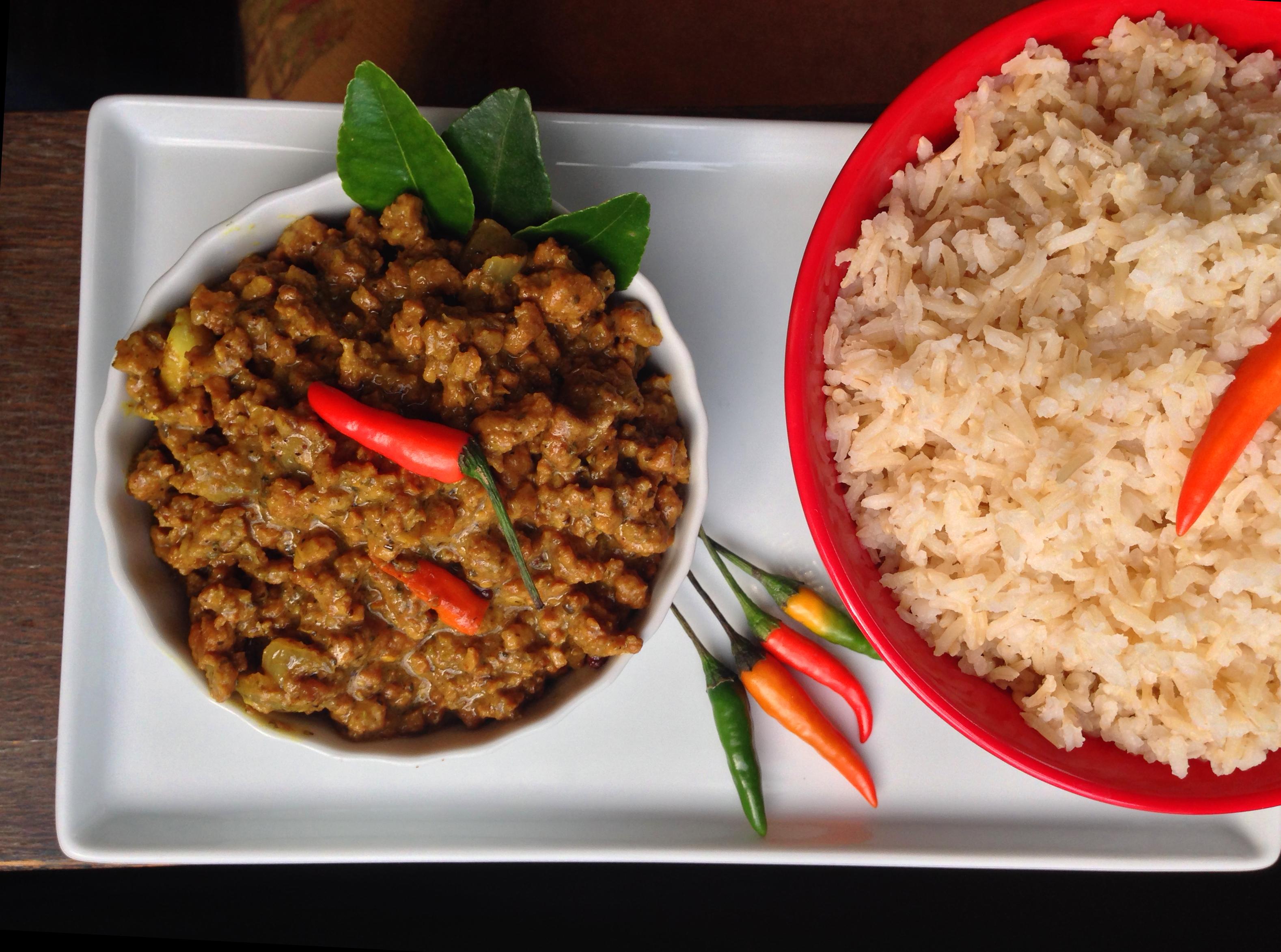 Spicy Indonesian Vegan Beef Rendang